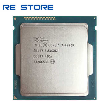 used Intel Core i7 4770K SR147 3.5GHz Quad-Core CPU Desktop Processor - DISCOUNT ITEM  0 OFF All Category