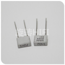 20 pçs nova evox mmk5 1000pf 63v p5mm filme capacitor mmk 102/63 v áudio 0.001 uf 63vdc venda quente 1nf/63v 102 1000 p 1nf