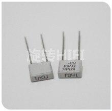 20PCS NEW EVOX MMK5 1000PF 63V p5mm film capacitor MMK 102/63V audio 0.001UF 63VDC hot sale 1nf/63v 102 1000P 1NF