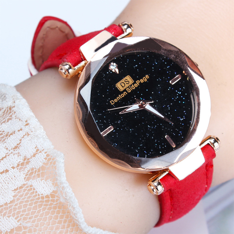 Top Brand Luxury Fashion Womens Ladies Simple Watches Faux Leather Analog Quartz Wrist Watch Clock Reloj Mujer Relogio Feminino