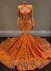 Orange Mermaid Long ...