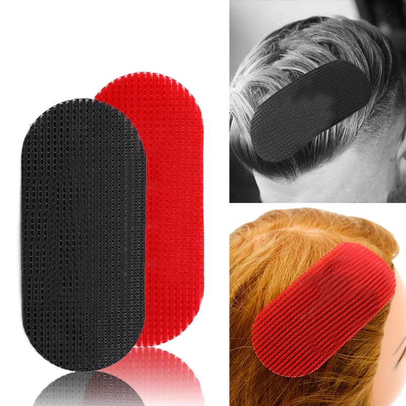 2Pcs/Pack Men Women Hair Gripper Holder Fixed Fringe Stickers Makeup Tools Salon Barber Hairdressing Pad Styling Sectioning Clip