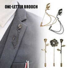Newly Elegant Women Brooch Alloy Pin Clip for Sweater Party Gown Ladies Men Formal Suit DO99(China)