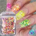 3D фрукты для дизайна ногтей, 1000 шт., полимерная глина «сделай сам», фруктовое перо, акриловые украшения для ногтей, крошечные ломтики, аксесс...