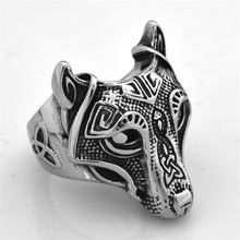 Кольцо viking wolf модные аксессуары ювелирные изделия кольцо