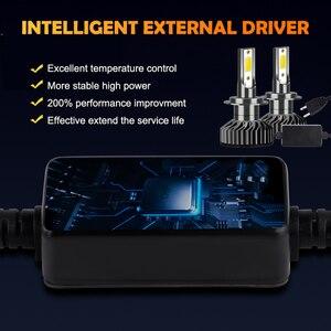 Image 3 - Hillpow farol do carro h7 led h4 h1 h11 h3 h13 h27 880 9006 9007 72w 6500k 12v auto farol cob luz de nevoeiro lâmpada frete grátis