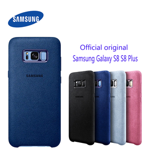 Image 1 - Funda de cuero de ante para Samsung S8, Protector completo a prueba de golpes para Galaxy S8, S8 Plus