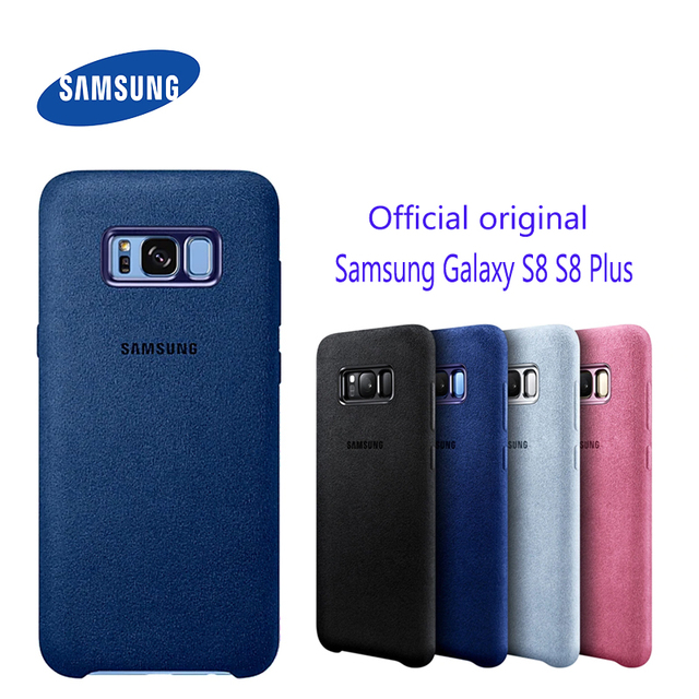Funda de cuero de ante para Samsung S8, Protector completo a prueba de golpes para Galaxy S8, S8 Plus