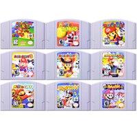 64 bits jeu Mari ancienne série jeu vidéo cartouche Console carte langue anglaise Version américaine pour Nintendo 64