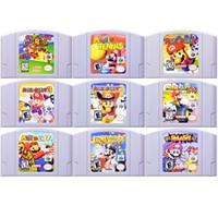 64 Bit Game Mari Old Series Video Game Cartridge Console Card English Language US Version For Nintendo 64