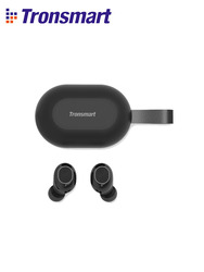 [Newest Version] Tronsmart Spunky Beat TWS Bluetooth Earphone QualcommChip APTX Wireless Earbuds with Volume Control