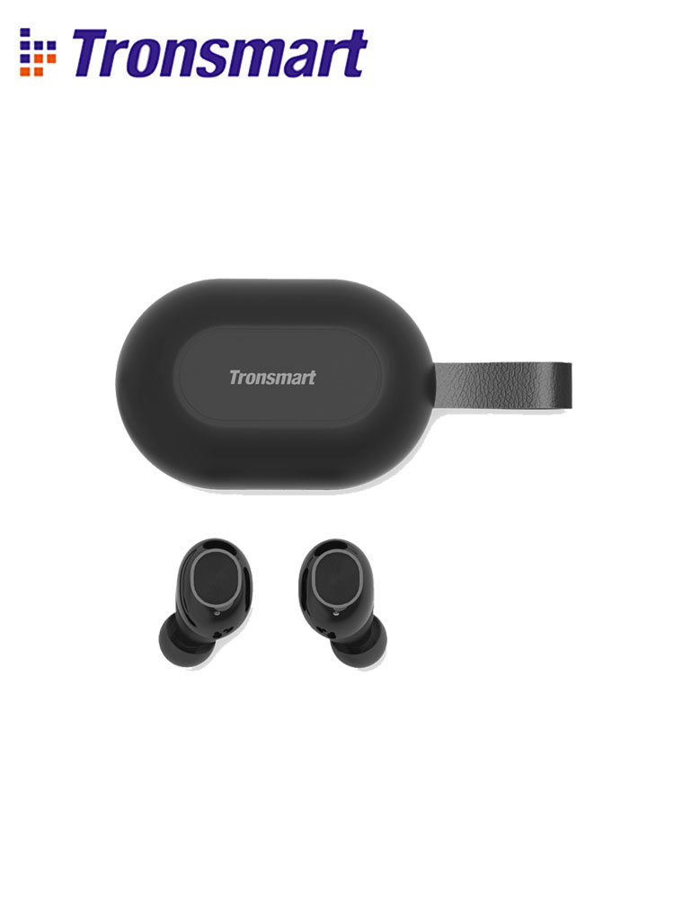 Newest Version  Tronsmart Spunky Beat TWS Bluetooth Earphone QualcommChip APTX Wireless Earbuds with Volume Control