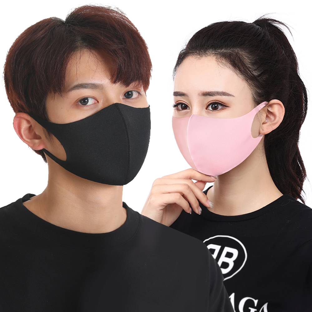 1Pcs Fashion Face Mouth Mask Anti Dust Mask Filter Windproof Mouth-muffle Anti PM2.5 Flu Face Masks Care Reusable Washable