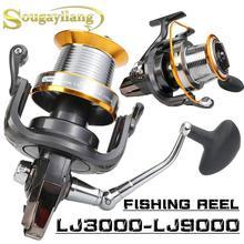 Yumoshi 1000-9000 Ball Bearing Reels molinete carretilhas de pesca 13+1BB Hot wheels Cheapest Spinning Reel Fishing
