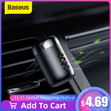 Baseus металлический автомобильный освежитель воздуха ароматерапия Твердый для автомобиля Вентиляционный Выход освежитель воздуха состояние Клипса диффузор