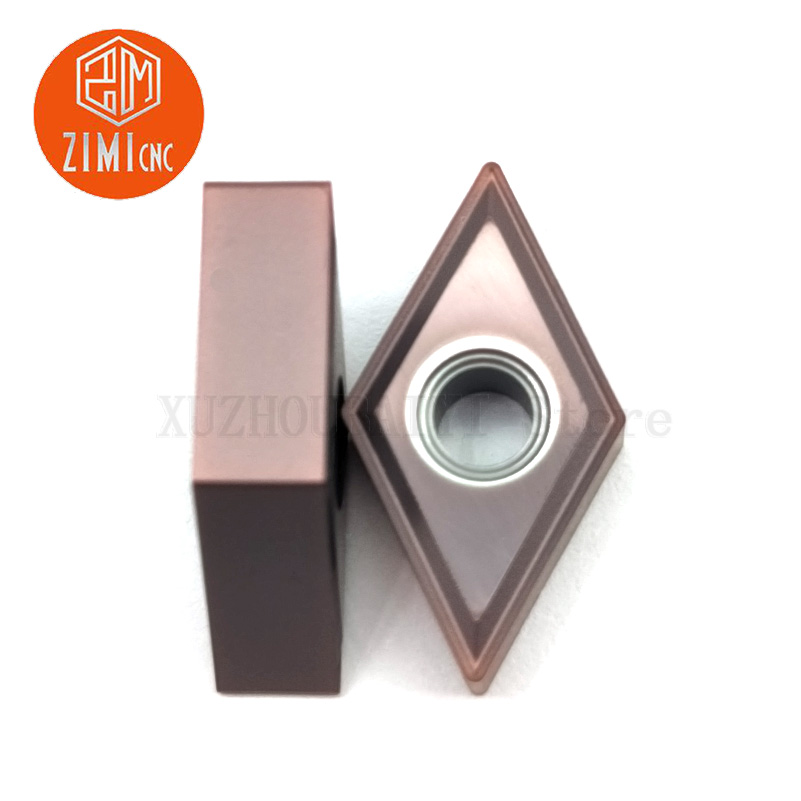 DNMG110404-MS/DNMG150404-MS/DNMG150408-MS Carbide Blade ZIMI Tungsten Carbide Blade Indexable Turning Insert Tools Lathe Tools