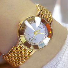 Women Luxury Brand Watch 2020 New Fashion Quartz Ladies Wrist Watches Gold Watch For Women Diamond Wristwatch Crystal Clock 2020 цена и фото