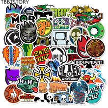 50Pcs Brand Logo Personalized Graffiti Stickers For Skateboard Luggage Motorcycl