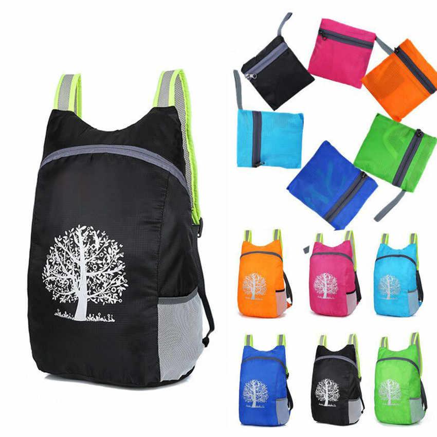 Sac à dos de randonnée de voyage léger pliable Durable sacs de sport chasse en plein air escalade voyage sac à dos grande capacité