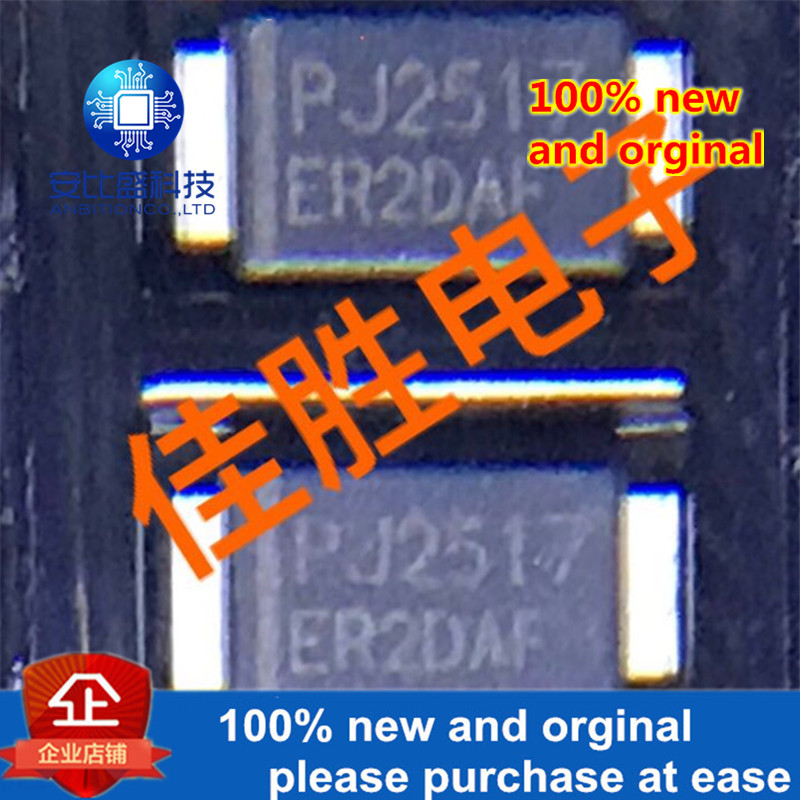 50pcs 100% New And Orginal 2A200v Ultrafast Recovery Diode SMAF Silk-screen ER2DAF In Stock