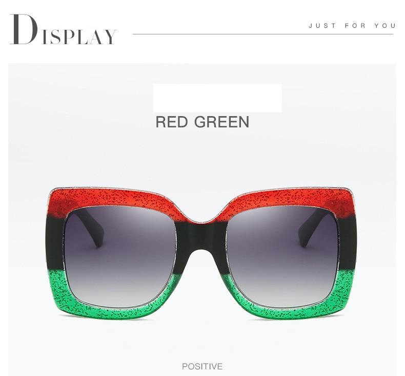 Luxury Brand Designer Square Sunglasses Shades For Women Vintage Women's Sun Glasses Cool Retro 2021 Trends Sunglasses Female gg (8)