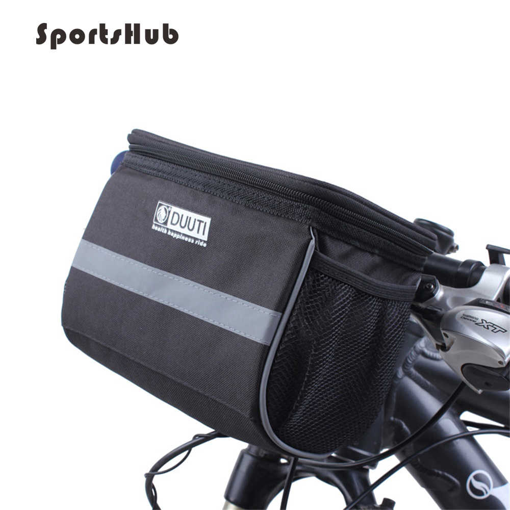 Rainproof Bike Bag Large Capacity Handlebar Front Tube Bag Bicycle Pocket Shoulder Backpack Cycling Bike Accessories C0071