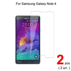Image 1 - Premium temperli cam Samsung Galaxy not 4 koruyucu cam ekran koruyucu için Samsung not 4 cam