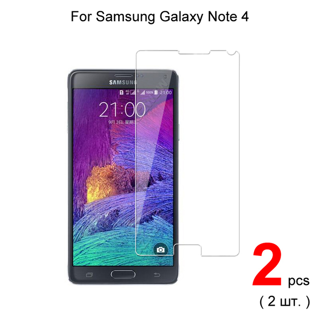 Vidro temperado premium para samsung galaxy note 4 protetor de tela de vidro de proteção para samsung note 4 vidro