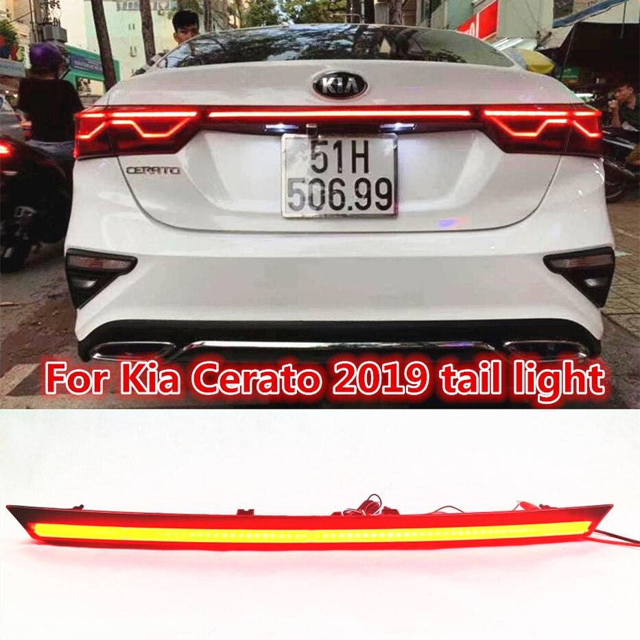 Taillights Led Connector For Kia Cerato/Forte 2019 2020 Daylight Stop Light Brake Light
