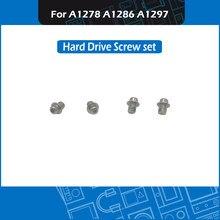 10 set/lote parafusos de substituição hdd portátil a1278 a1286 a1297 disco rígido parafuso conjunto