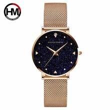 Часы hannah martin женские наручные роскошные брендовые кварцевые