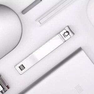 Image 5 - Huohou Manicure Nail Clippers Trimmer Peli del Naso Portatile Da Viaggio In Pelle Magnetico Della Copertura Kit In Acciaio Inox Nail Cutter Tool Set