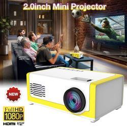 M1 Mini projecteur Led Ultra Portable HD 1080P Home cinéma AV USB HDMI projecteur états-unis/ue/royaume-uni/AU économie d'énergie TFT LCD