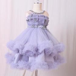 Baby Toddler Dresses Liac 1 2 Years Little Girl Dress for Baby Girl Birthday Outfits Infant Christening Gown Flower Girl Dress