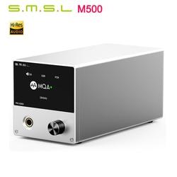 SMSL M500 MQA Audio DAC ES9038PRO ES9311 XMOS XU-216 32bit 768kHz DSD512 Hi-Res Audio Decoder & Headphone Amplifier