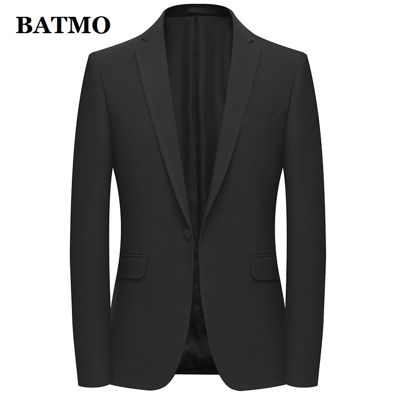 Batmo 2019 New Arrival Spring Casual Thin Blazer Men,men's Suits Jackets ,casual Jackets Men Plus-size  M-4XL