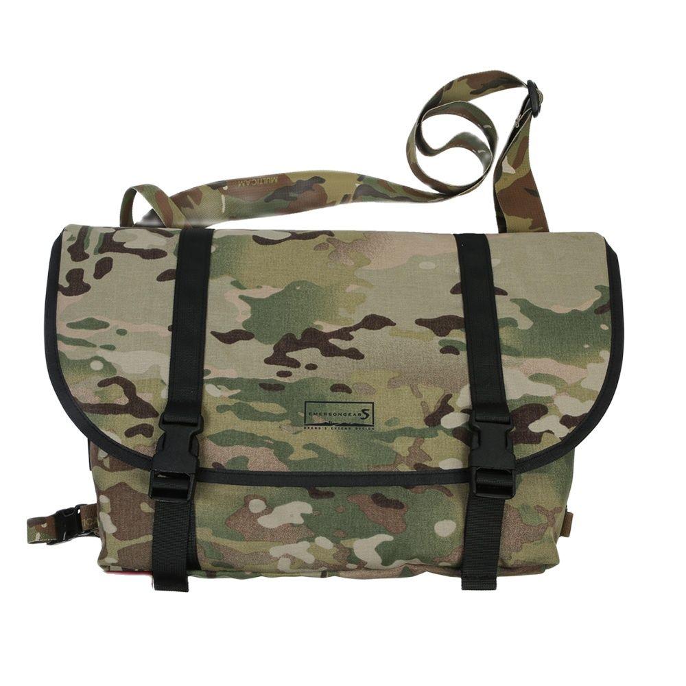 Emersongear Mens Bag Tactical Style Messenger Bag Multicam Bag Waterproof Outdoor Sports Hiking Travelling Bag Student Youth Bag