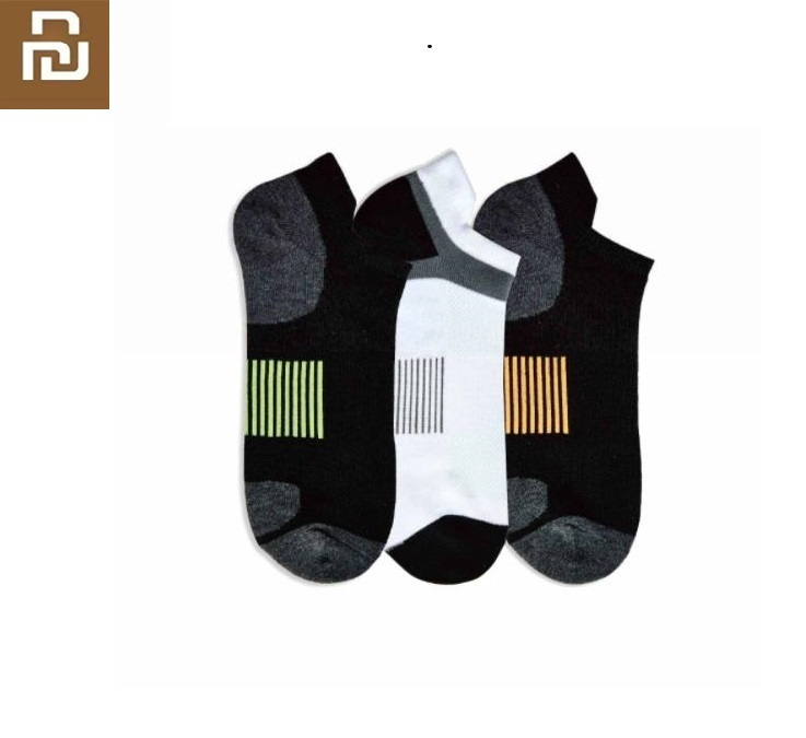 Youpin Youpin Men Odor-resistant Multi-function Sports Socks Dry Breathable Soft And Comfortable Summer Deodorant Boat Socks