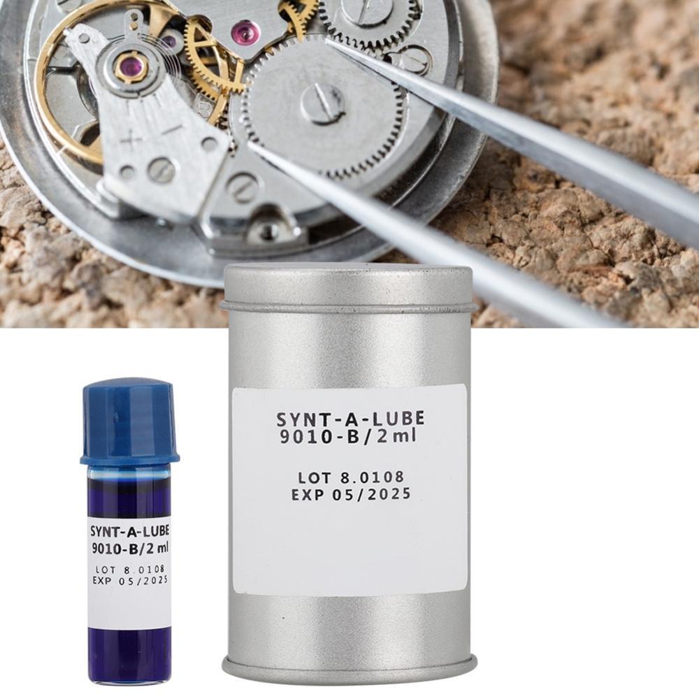 2ml Watch Repair Movement Oil Set Wristwatch Movement Lubricant Maintenance Tool Kit Watch Repair Accessories for Watchmaker