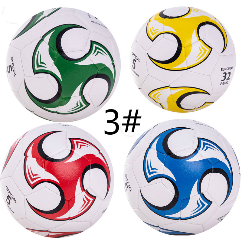 Size 3 Wholesale PVC/PU Football Supplies No 5 Children's Super Bright Football Soccer Balls Training Children Boys Gifts
