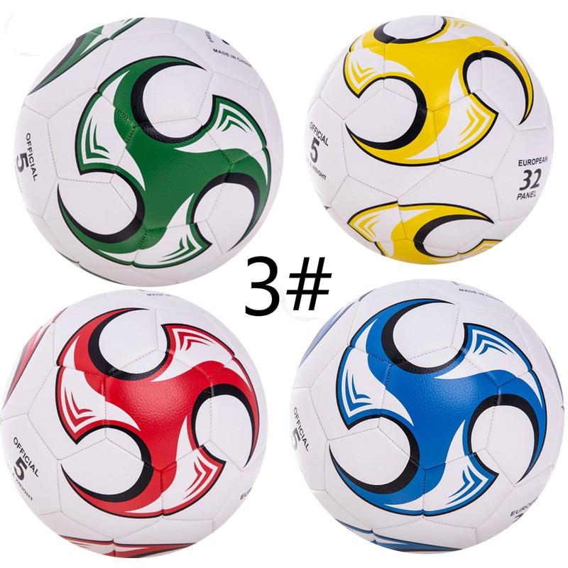 Size 3 Wholesale PVC/PU Football Supplies No 5 Children's Super Bright Football Soccer Balls Training Children Boys Gifts
