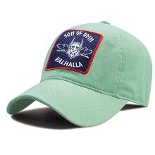 Sunscreen-Hat Vikings Outdoor Baseball-Caps Breathable Women Kpop of Odin Riding Unisex