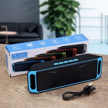 SC208 Bluetooth Wireless Audio Speaker Amplifier Stereo Subwoofer Portable Speaker TF USB FM Radio Built-in Mic Dual Bass sc208 wireless bluetooth speaker computer mini dual speaker portable small stereo car subwoofer support bluetooth hot selling