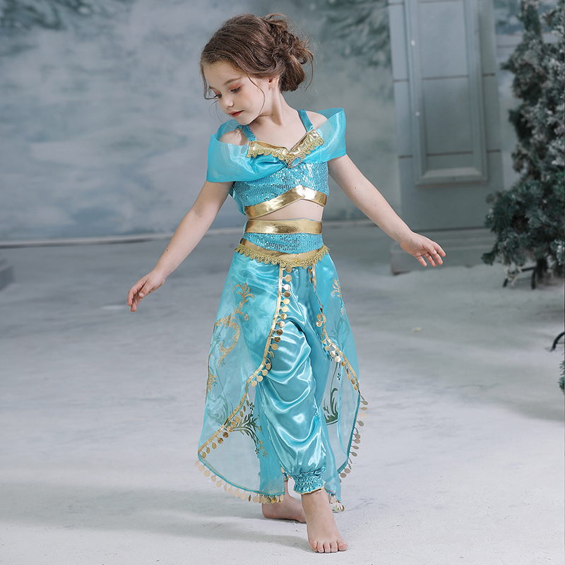 H5f5c8b55430f43cdbb7ade84d4b391fen 2019 Children Girl Snow White Dress for Girls Prom Princess Dress Kids Baby Gifts Intant Party Clothes Fancy Teenager Clothing