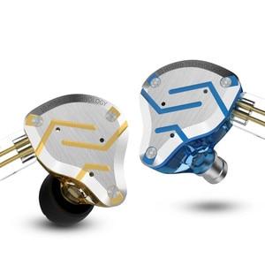 Image 4 - KZ ZS10 Pro Metal In Earphones 10 driver Unit Hybrid 4BA+1DD HIFI Bass Earbuds Headphones Sport Noise Cancelling Headset Monitor