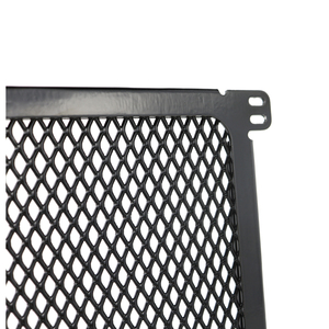 Image 5 - Radiator Guard For BMW S1000R S1000RR S1000XR HP4 2014 2015 2016 Grill Oil Cooler Cover Protector Black