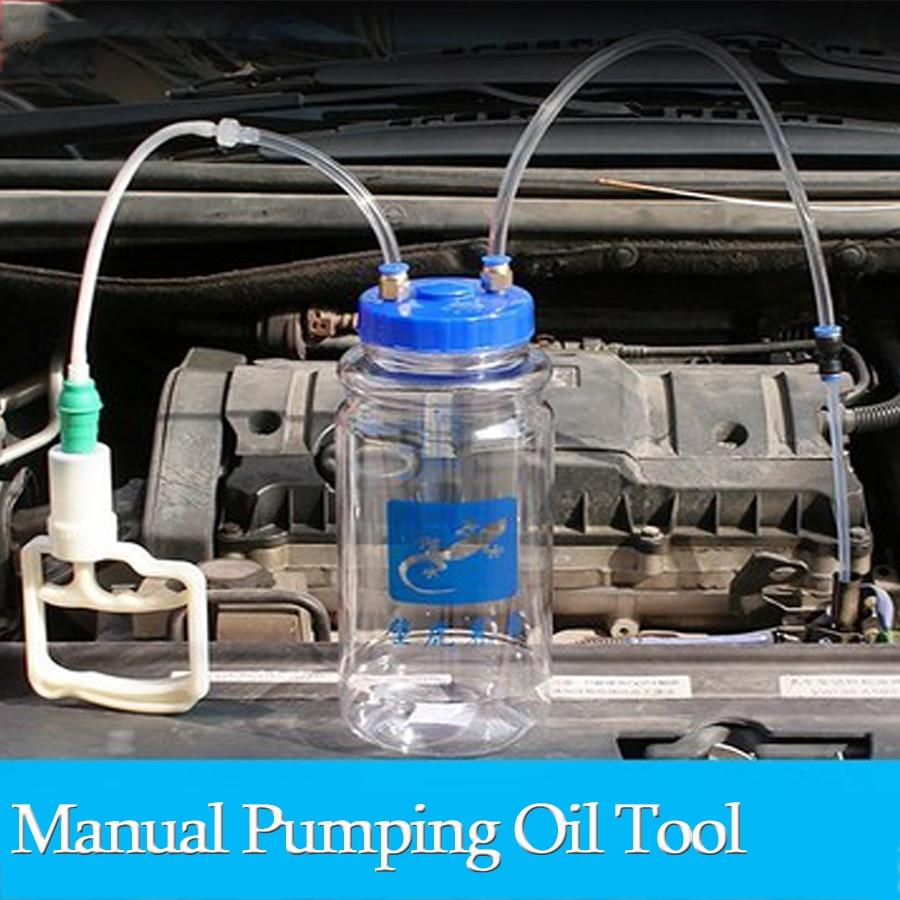 Mr Cartool 2L Universal Oil Change Pump Suction Vacuum Pump Automobiles Manual Suction Oil Pump Artifact