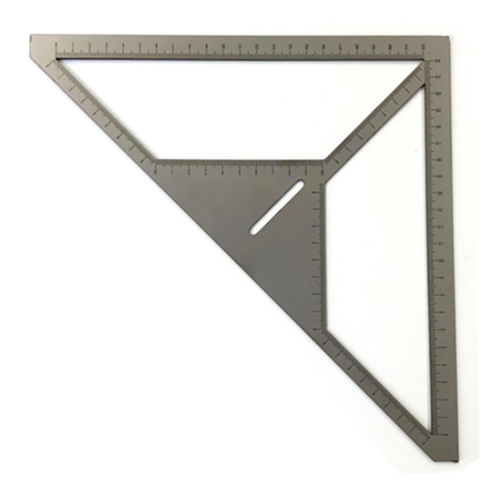 Economic Multifunction Pattern Tile Ruler Bricklayer Stainless Steel Triangle Ruler Flower Builder Floor Drain Ruler