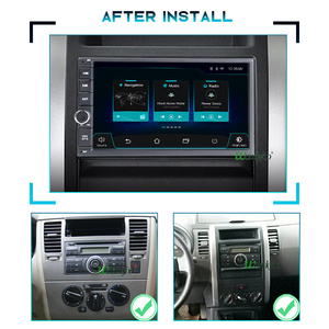 Image 3 - Universal PX6 car intelligent system 2 din radio android 10 screen car radio video players 2DIN for nissan Juke Qashqai X trail
