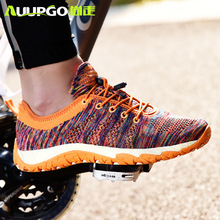 Cycling-Shoes Wading Non-Lock AUUPGO Women Original for with Drainage-Hole Casual Size-45